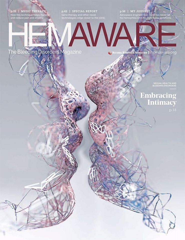 Summer 2018 cover of HemAware