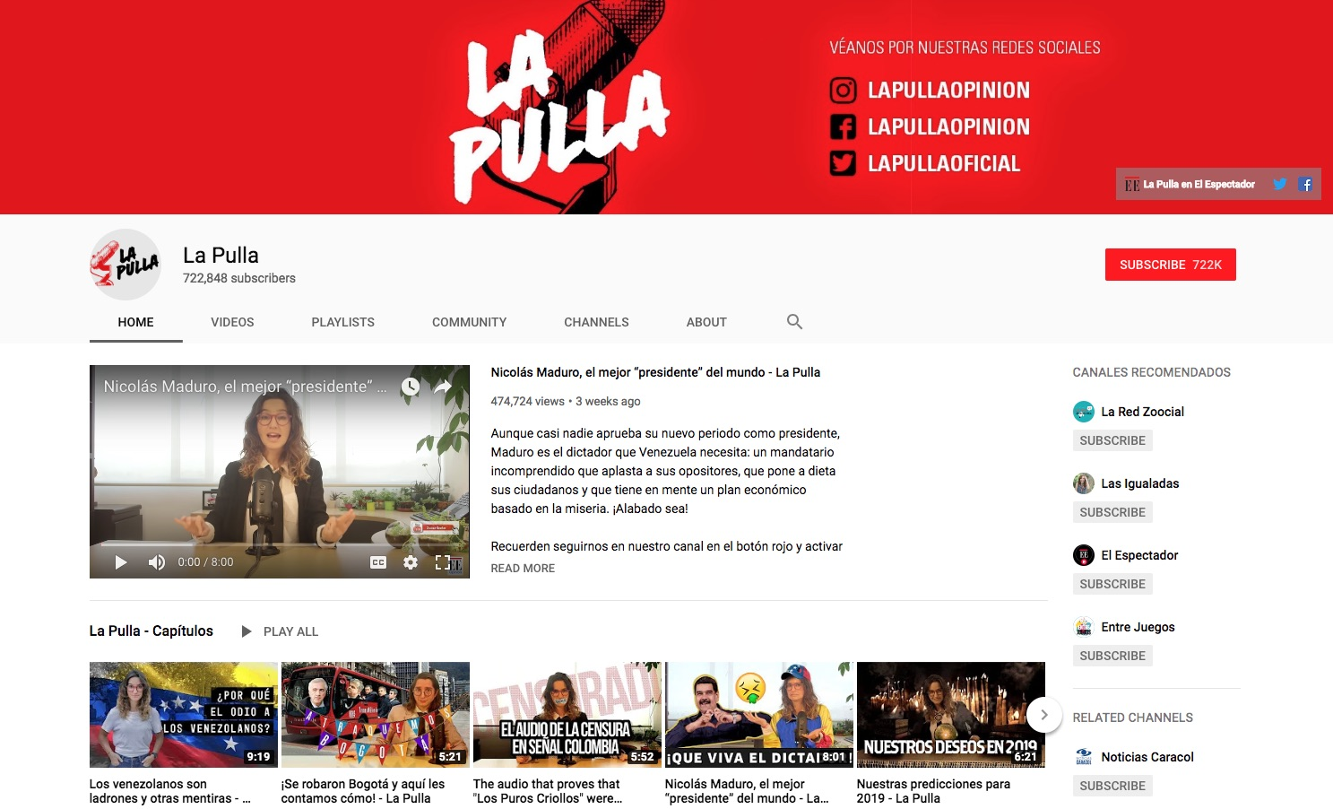 La Pull YouTube channel - How to Engage Millennials