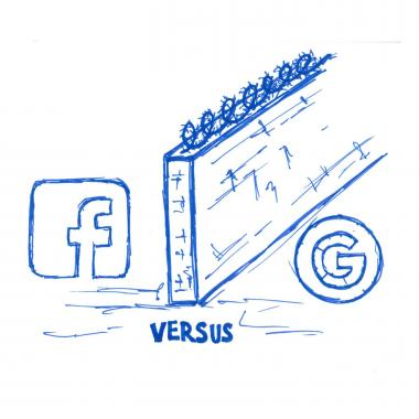 Facebook vs Google Doodle - How Brands Can Take Advantage of the Google-Facebook Rivalry