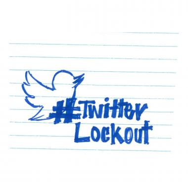 Twitter Lockout Doodle