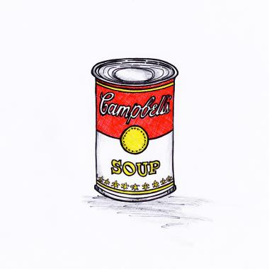 Campbell's Chicken Soup Can